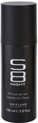 Oriflame S8 Night deospray pentru barbati