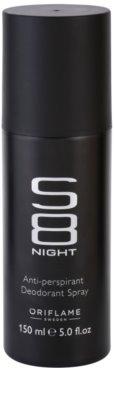 Oriflame S8 Night desodorante en spray para hombre