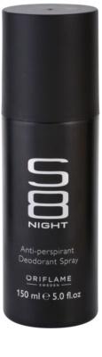 Oriflame S8 Night дезодорант-спрей для чоловіків