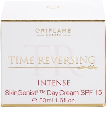 Oriflame Time Reversing Intense wygładzający krem na dzień ujędrniający skórę 4