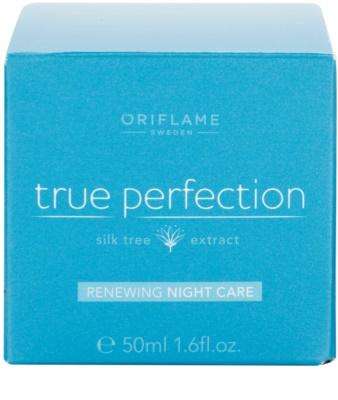 Oriflame True Perfection erneuernde Nachtcreme 4