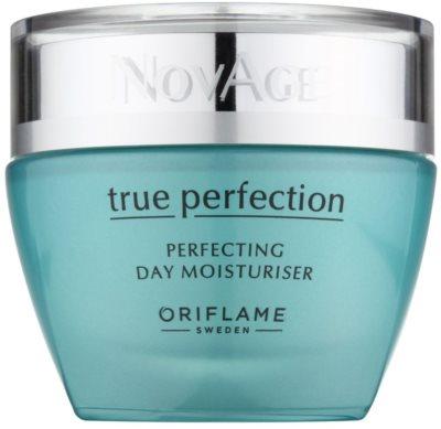 Oriflame Novage True Perfection crema hidratante iluminadora para lucir una piel perfecta
