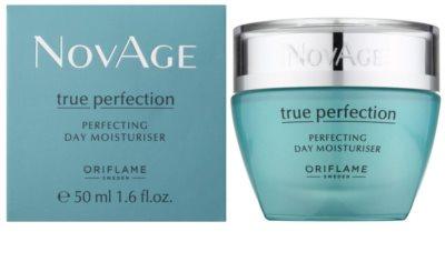 Oriflame Novage True Perfection aufhellende und feuchtigkeitsspendende Creme für perfekte Haut 1