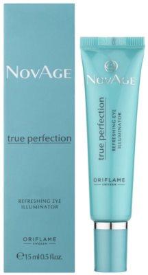Oriflame Novage True Perfection роз'яснюючий крем для шкіри навколо очей з кофеїном 1