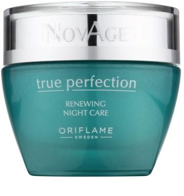 Oriflame Novage True Perfection nočný obnovujúci krém pre dokonalú pleť