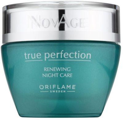Oriflame Novage True Perfection нічна відновлююча емульсія для досконалої шкіри