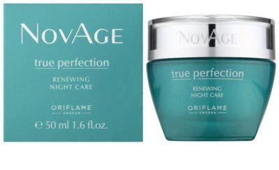 Oriflame Novage True Perfection нічна відновлююча емульсія для досконалої шкіри 1