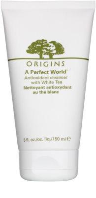 Origins A Perfect World™ очищающий пінистий крем з білим чаєм