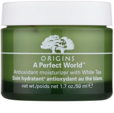 Origins A Perfect World™ антиоксидантний крем для шкіри з білим чаєм