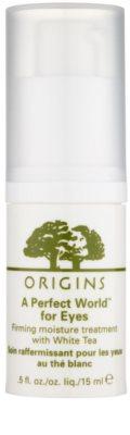 Origins A Perfect World™ зміцнююча сироватка для шкіри навколо очей з білим чаєм