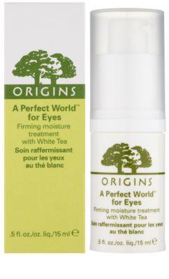 Origins A Perfect World™ sérum de olhos refirmante com chá branco 2