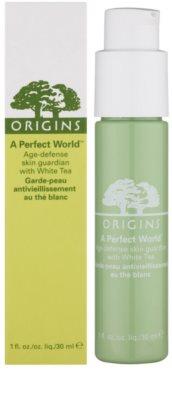 Origins A Perfect World™ Antioxidans-Serum gegen Falten mit weißem Tee 1