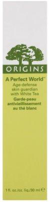 Origins A Perfect World™ Antioxidans-Serum gegen Falten mit weißem Tee 2