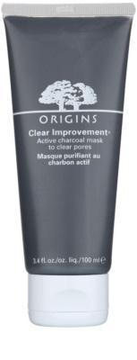Origins Clear Improvement® maseczka oczyszczająca, redukująca sebum i zmniejszająca pory