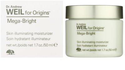 Origins Dr. Andrew Weil for Origins™ Mega-Bright зволожуючий крем для сяючої шкіри 1