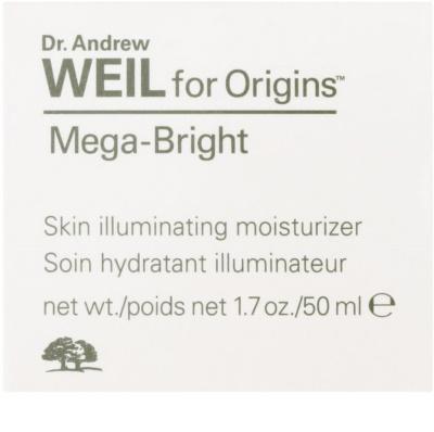 Origins Dr. Andrew Weil for Origins™ Mega-Bright hydratační krém pro rozjasnění pleti 2