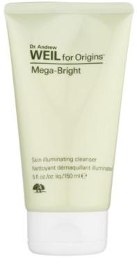 Origins Dr. Andrew Weil for Origins™ Mega-Bright очищуючий пінистий гель для сяючої шкіри