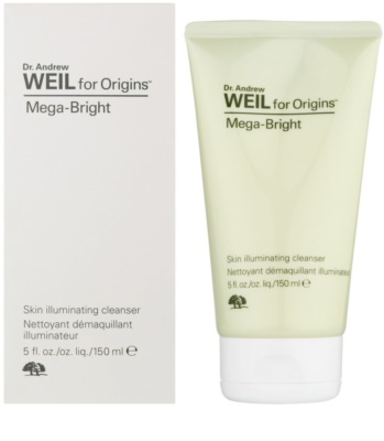 Origins Dr. Andrew Weil for Origins™ Mega-Bright tisztító habzó gél az élénk bőrért 1
