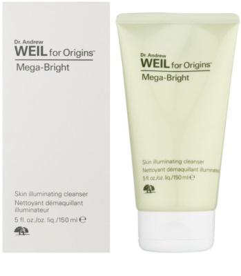 Origins Dr. Andrew Weil for Origins™ Mega-Bright gel espumoso de limpeza para pele radiante 1