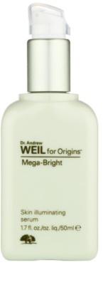 Origins Dr. Andrew Weil for Origins™ Mega-Bright rozświetlające serum do twarzy
