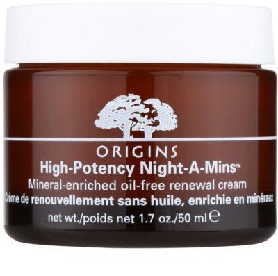 Origins High Potency Night-A-Mins™ creme de noite renovador para pele normal a oleosa