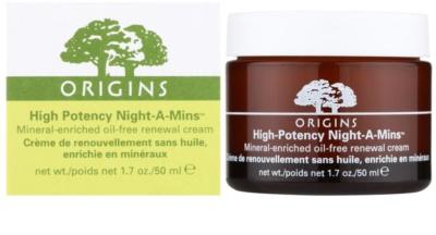 Origins High Potency Night-A-Mins™ crema de noche reparadora  para pieles normales y grasas 1