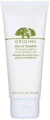 Origins Out Of Trouble® maska pro problematickou pleť, akné