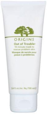 Origins Out Of Trouble® maszk problémás és pattanásos bőrre