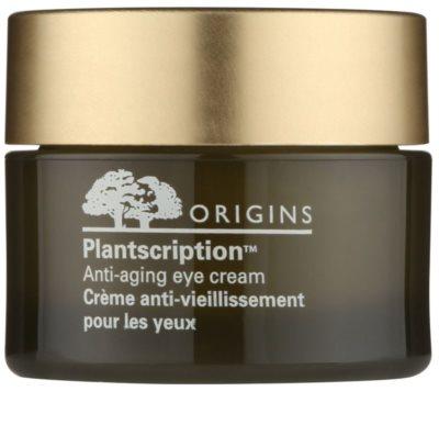 Origins Plantscription™ krema za predel okoli oči proti gubam