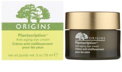 Origins Plantscription™ crema de ochi antirid 1