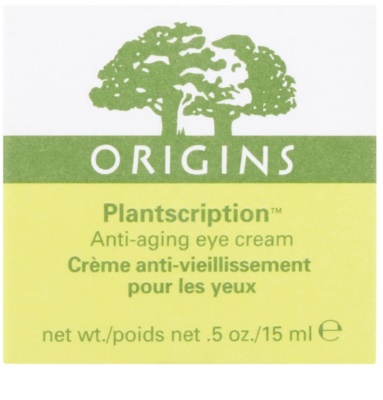 Origins Plantscription™ crema de ochi antirid 2