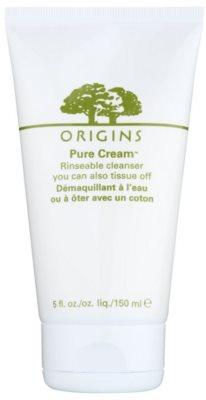 Origins Pure Cream™ čistilni gel za odstranjevanje ličil z vlažilnim učinkom