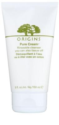 Origins Pure Cream™ очищуючий гель для зняття макіяжу зі зволожуючим ефектом