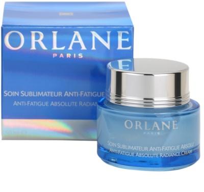 Orlane Absolute Skin Recovery Program creme iluminador para pele cansada 3