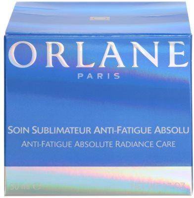 Orlane Absolute Skin Recovery Program creme iluminador para pele cansada 4