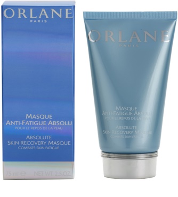 Orlane Absolute Skin Recovery Program máscara para pele cansada 1