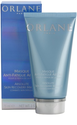 Orlane Absolute Skin Recovery Program máscara para pele cansada 2