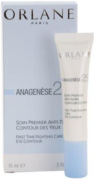 Orlane Anagenese 25+ Program Augencreme gegen Falten, Tränensäcke und Augenringe 2