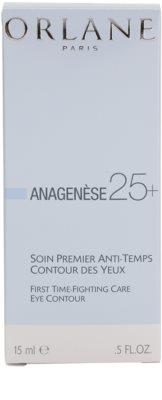 Orlane Anagenese 25+ Program Augencreme gegen Falten, Tränensäcke und Augenringe 3