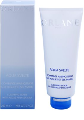 Orlane Body Care Program exfoliante adelgazante con algas y sal marina 1