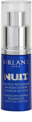 Orlane Extreme Line Reducing Program creme regenerador de noite  contra as rugas da área dos olhos