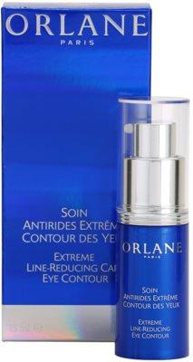 Orlane Extreme Line Reducing Program нежен очен крем против бръчки за околоочния контур 2
