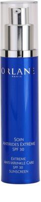 Orlane Extreme Line Reducing Program creme antirrugas com alta proteção UV