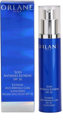 Orlane Extreme Line Reducing Program crema anti-rid cu o protectie UV ridicata 1