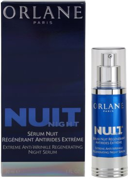 Orlane Extreme Line Reducing Program nočni regeneracijski serum proti gubam 1