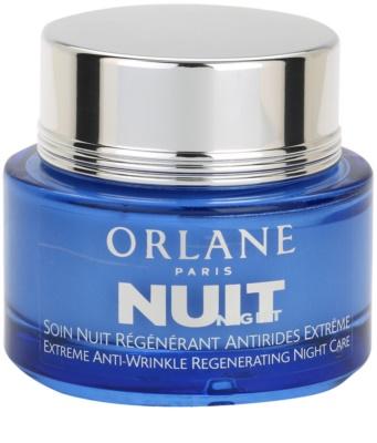 Orlane Extreme Line Reducing Program crema de noche regeneradora  antiarrugas