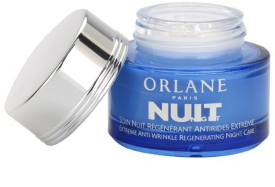 Orlane Extreme Line Reducing Program crema regeneratoare de noapte antirid 1