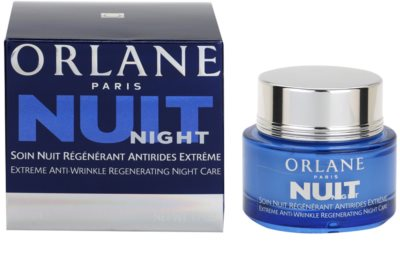 Orlane Extreme Line Reducing Program crema regeneratoare de noapte antirid 2