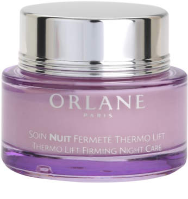 Orlane Firming Program crema reafirmante de noche efecto termolifting