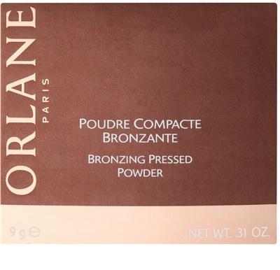 Orlane Make Up kompaktowy puder brązujący rozjaśniający 4